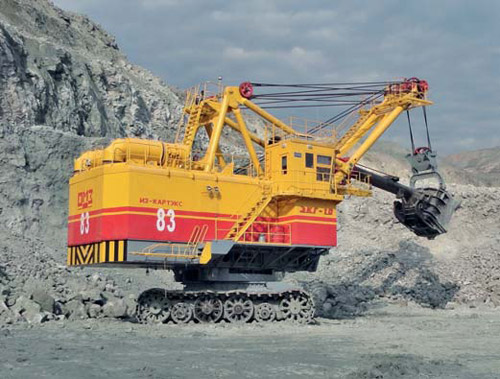 Development Strategy And New Line Of Mining Excavators Manufactured By Iz Kartex Omz Group Mining Industry Journal