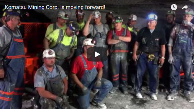 Komatsu Mining Corp. is moving forward!